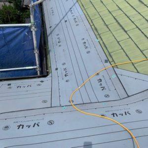 西宮市にて屋根修理 ~カバー工法~