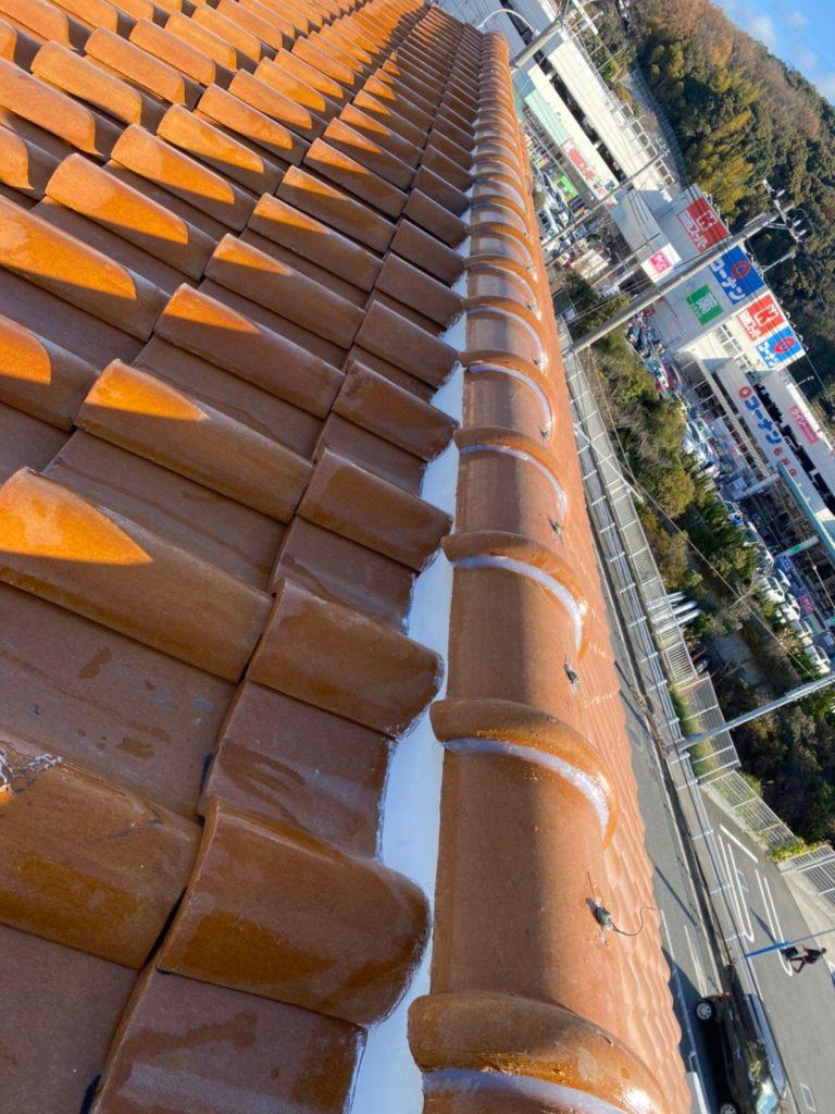 垂水区漆喰補修工事